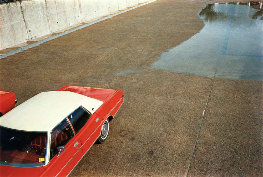 William Eggleston   Untitled  (Red car), 1970-1973