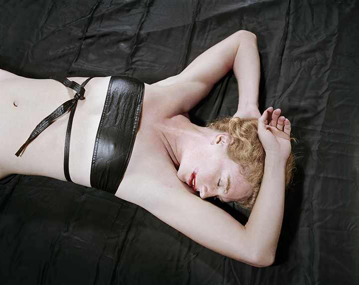 Untitled , (Woman with Halter), From  Early Color Portfolio , circa 1976 16 x 20 inches Archival Pigment Print