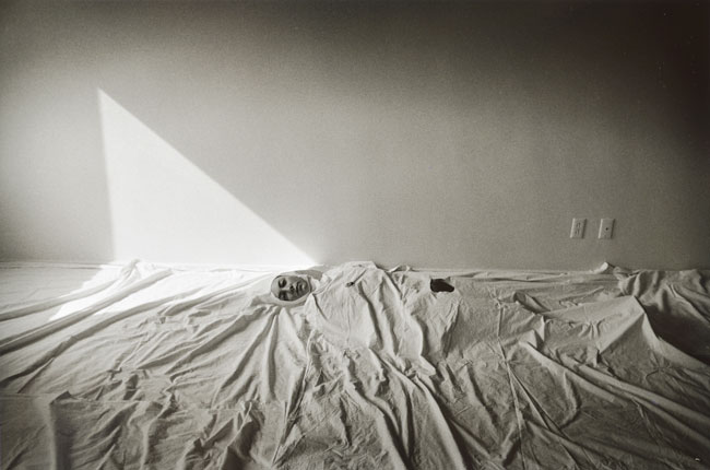 Untitled, (Figure Under Sheets) from the  Early   Black and White Portfolio , circa Early 1970's Gelatin Silver Print  14 x 11 inches