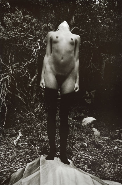 Untitled, (Standing Nude) from the  Early Black and White Portfolio , circa Early 1970's Gelatin Silver Print  14 x 11 inches