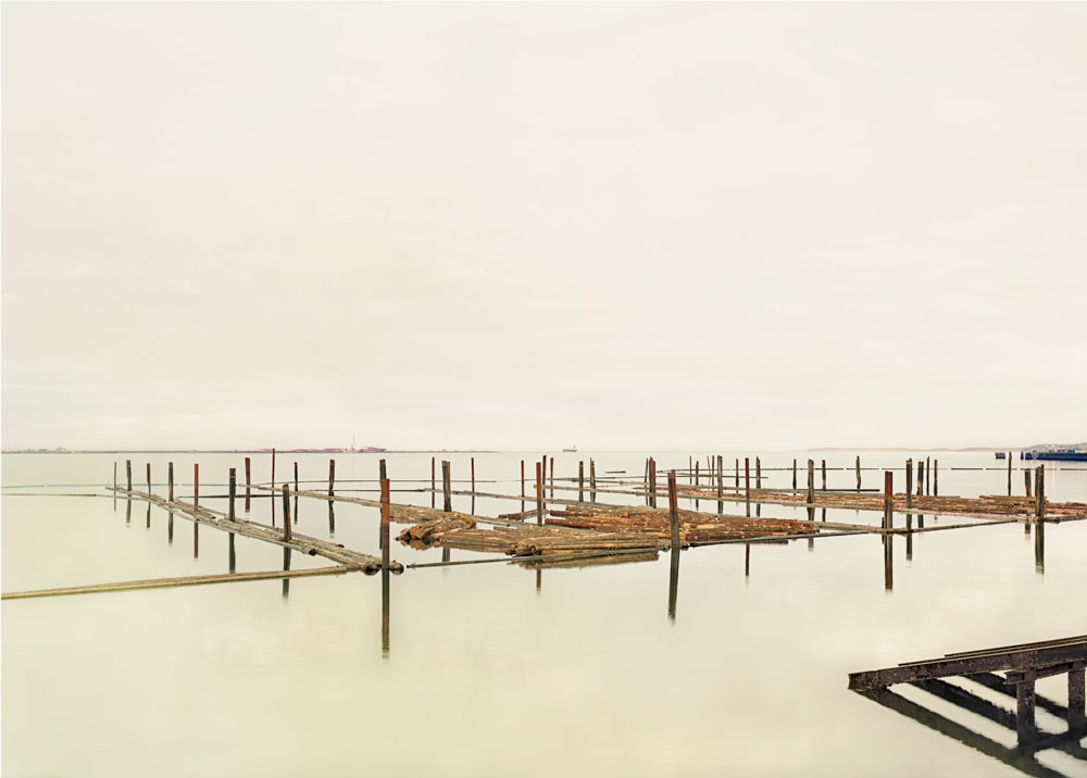 Elger Esser ,  Port Angeles , from  Six American Sunsets , 2008