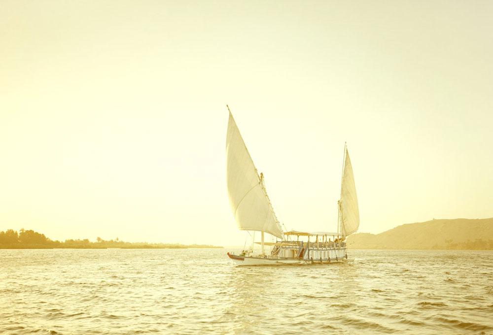 Elger Esser ,  Nil I, Egypt , 2011