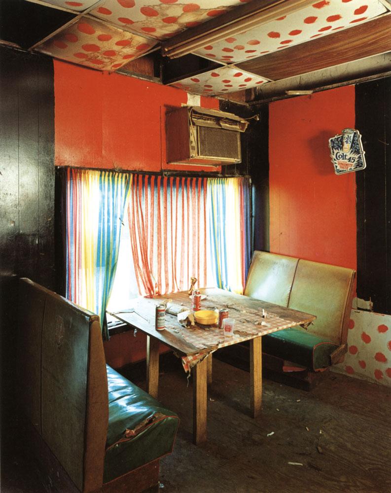 Arcola Cafe , Arcola, 1985 Chromogenic Dye Coupler Print 20 x 16 inch