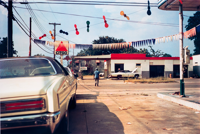 Untitled  (Car lot), 1976 Dye Transfer Print 20 x 24 inches