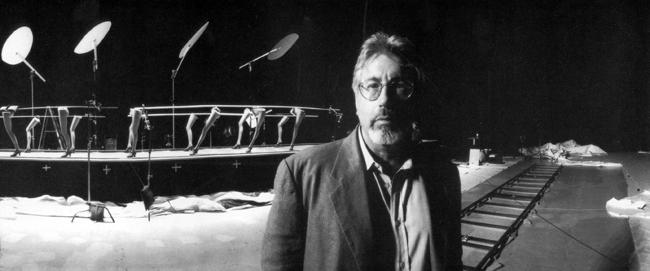 Neil Koenigsberg on the set of The Big Lebowski , 1998