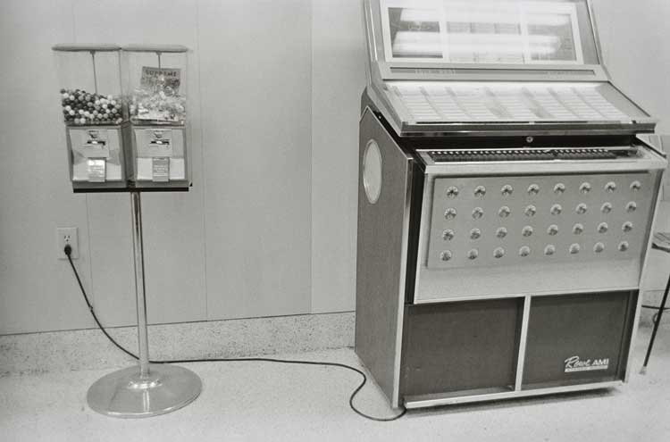 Untitled  (Jukebox), 1960-1972 Gelatin Silver Print 16 x 20 inches
