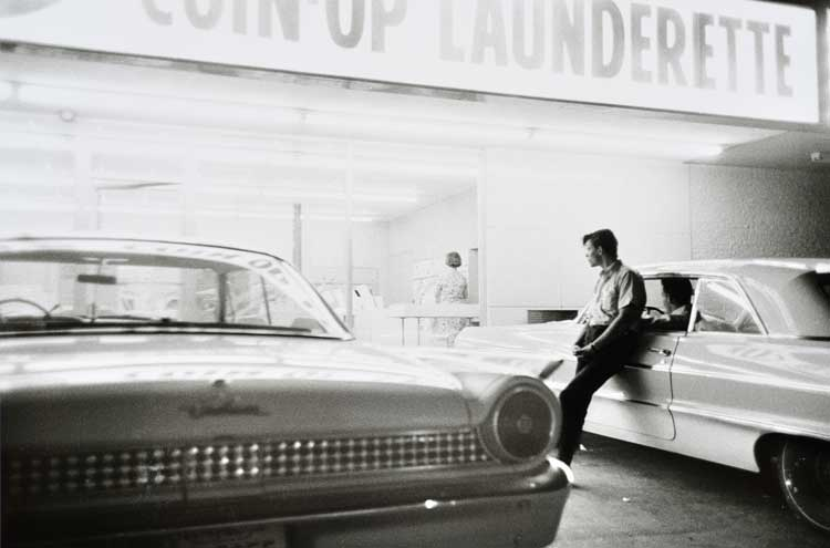 Untitled  (Man at laundry), 1960-1972 Gelatin Silver Print 16 x 20 inches