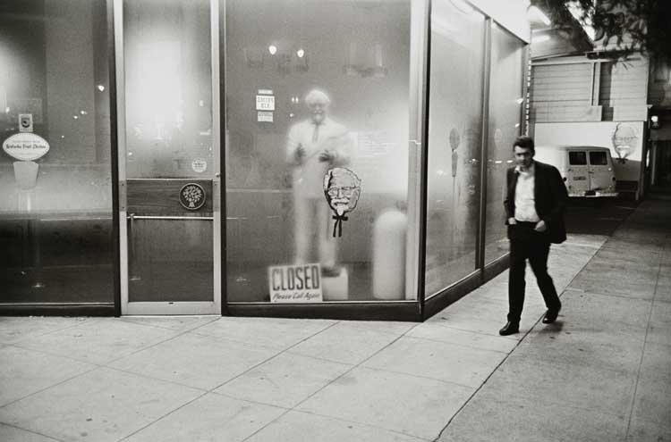 Untitled  (KFC man), 1960-1972 Gelatin Silver Print 16 x 20 inches