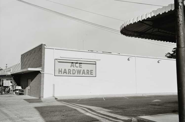 Untitled  (Ace Hardware), 1960-1972 Gelatin Silver Print 16 x 20 inches