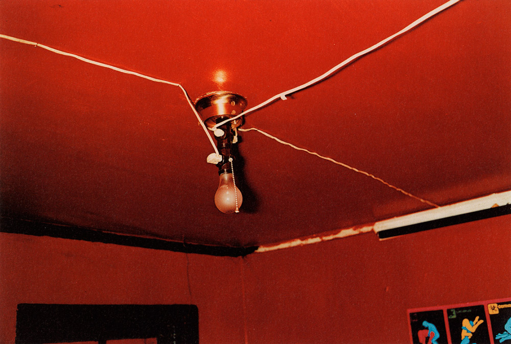 Untitled,  (Red ceiling) Greenwood, Mississippi ,  1973