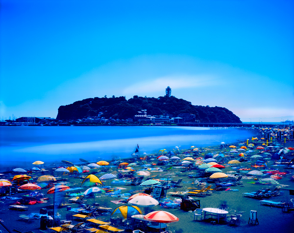 Morning to Evening, Katase-Enoshima Seaside Beach, Kanagawa , from the series 'One Day,' 2007