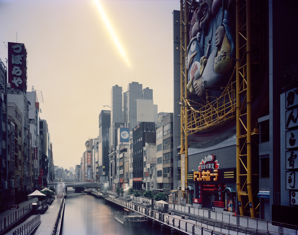 Morning to Evening, Dotonbori, Osaka , from the series 'One Day,' 2008