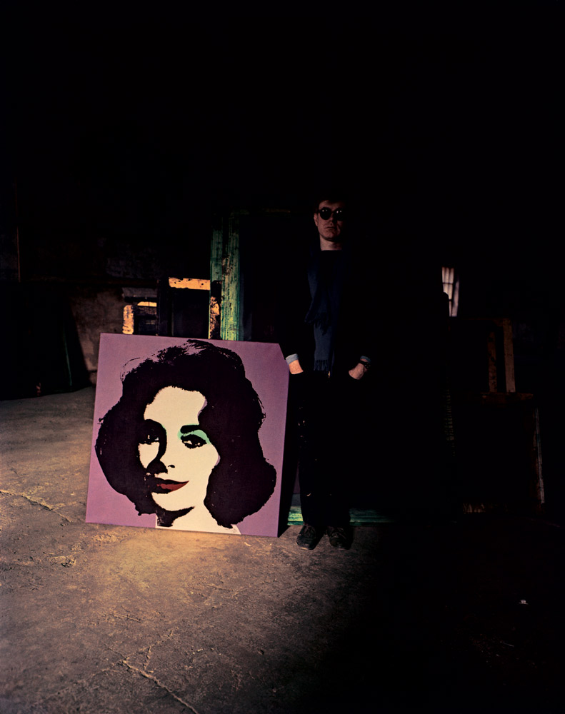 Andy Warhol , New York, 1962  Dye Transfer Print 20 x 16 inch