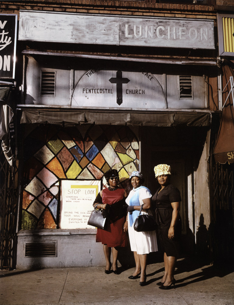 Harlem Church , New York, 1964 Dye Transfer Print 20 x 16 inch