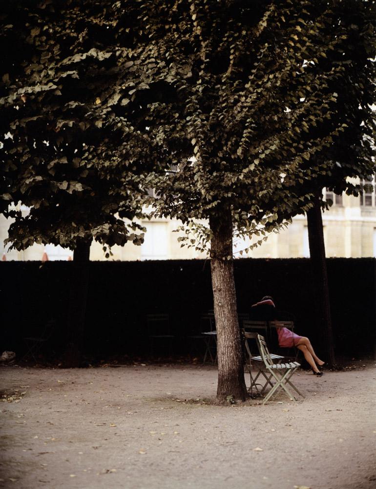 Jardin de Luxembourg , Paris, 1967 Dye Transfer Print 20 x 16 inch