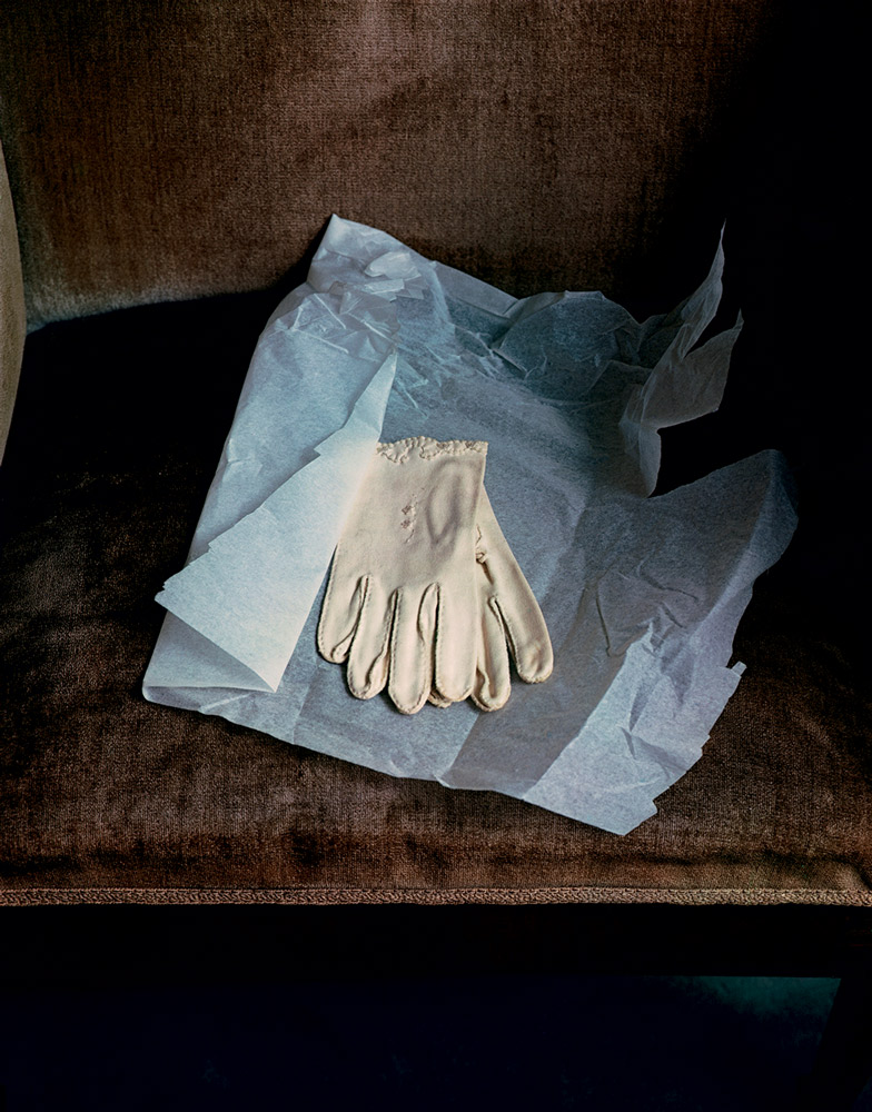 Marianne Moore's Gloves , 1983 Dye Transfer Print 20 x 16 inch