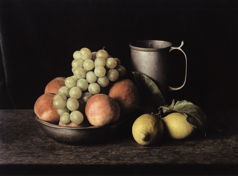 Pewter Pitcher with Grapes (Still Life No. 7) , New York, 1997 Dye Transfer Print 20 x 24 inch
