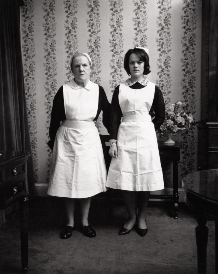 Anna and Emma , Dublin, 1966  Silver Gelatin Print 20 x 16inch