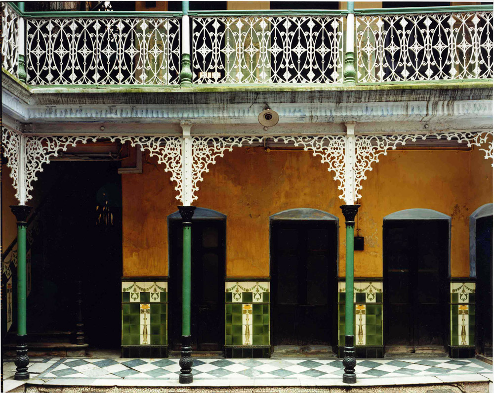 Courtyard, Sen House, North Calcutta, India