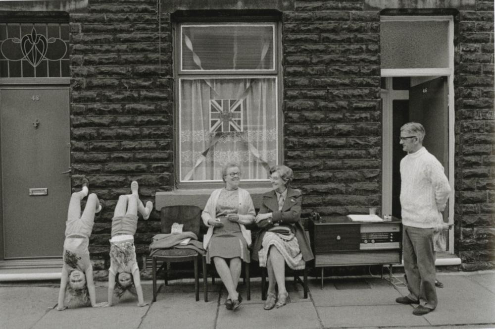 Silver Jubilee street party, Todmorden, 1975-1980