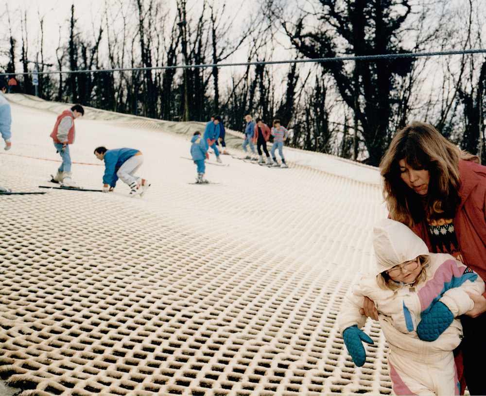 Artificial Ski Slope,  1988