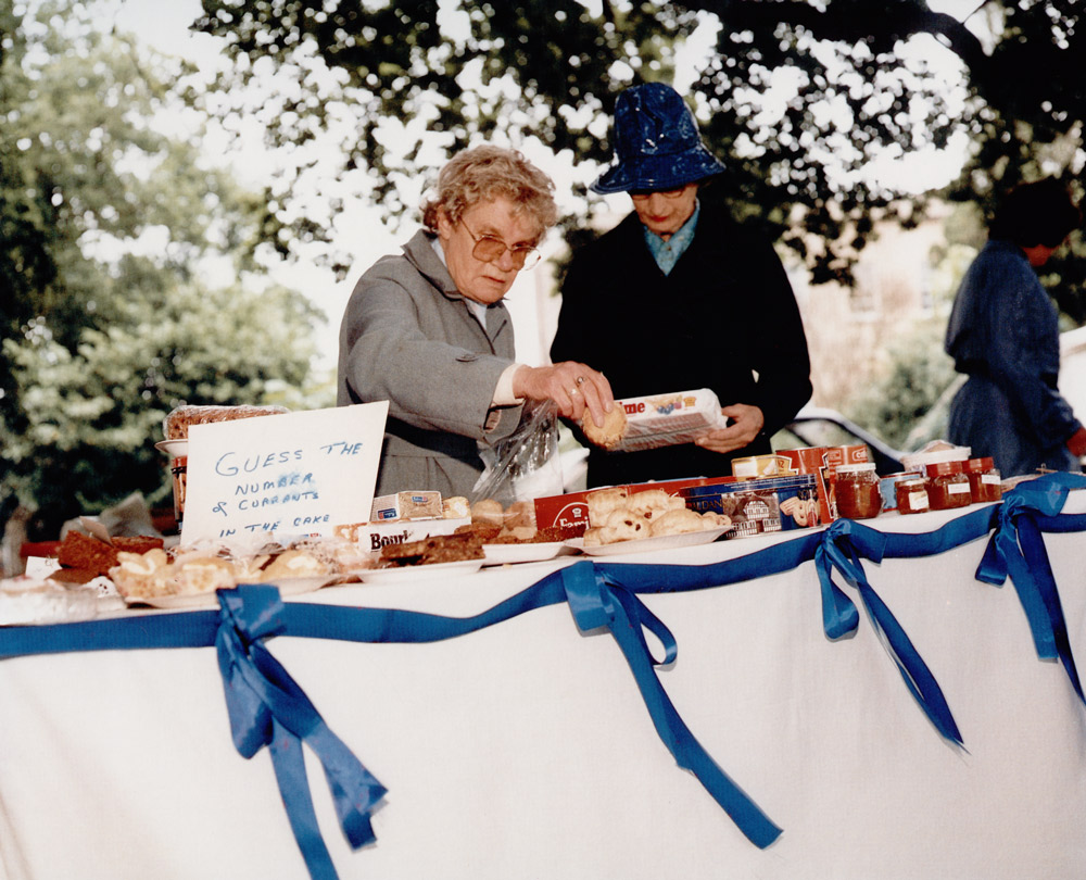 Conservative Party Fete, Horse Trials,  1988