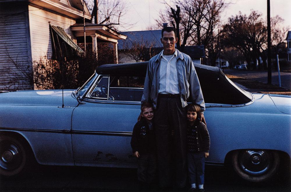 Blue Convertible, Muskogee, Oklahoma , 1963