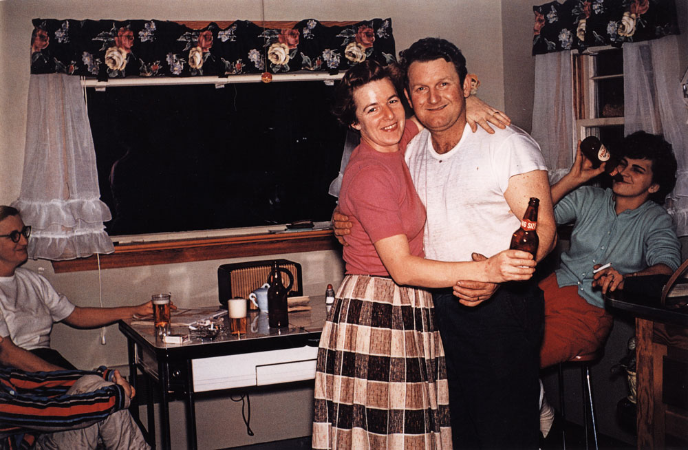 Dancing in the Kitchen, Preston, Connecticut , ca. 1955