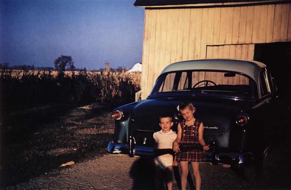 Children with Gun, Ruel, Indiana , 1953