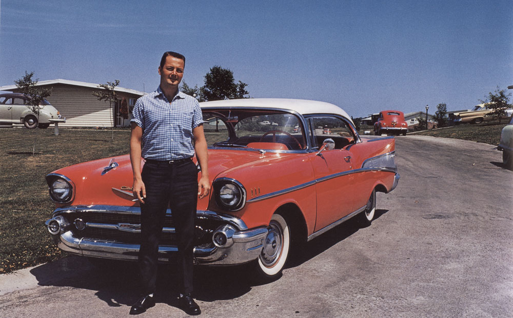 Jerry and His '57 Chevy, Kansas City, Kansas , ca. 1962