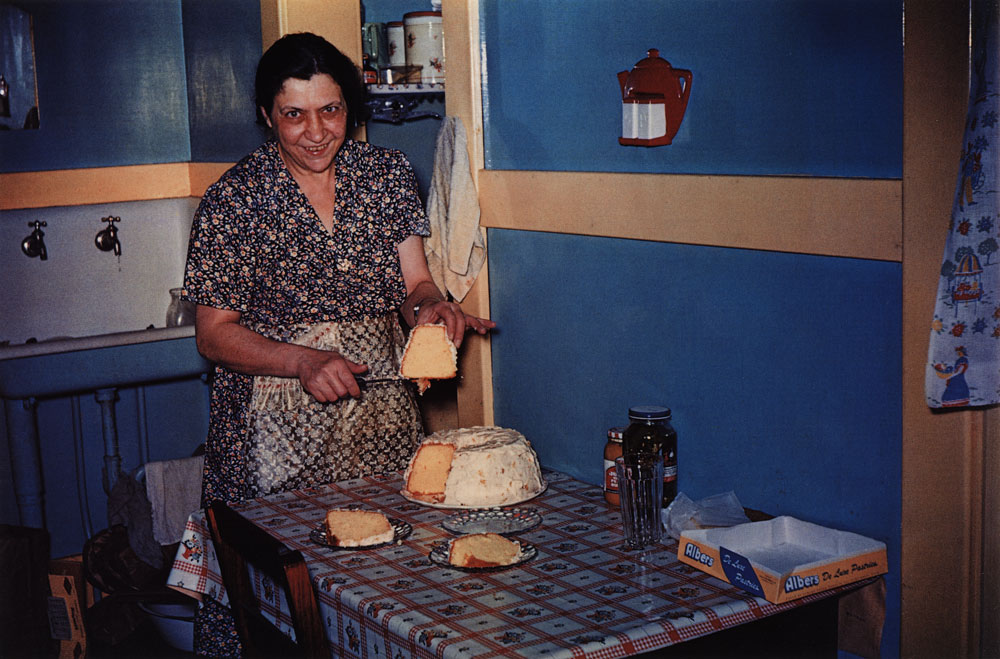 Mom with Chiffon Cake, Portsmouth, Ohio , 1950