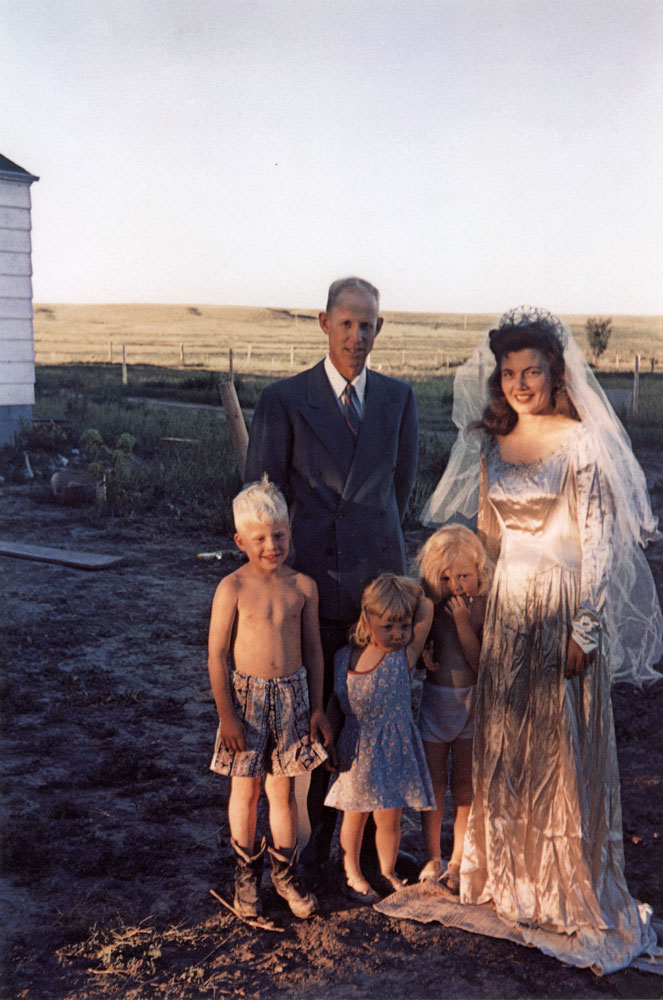 Seventh Wedding Anniversary, Hermosa, South Dakota , 1952