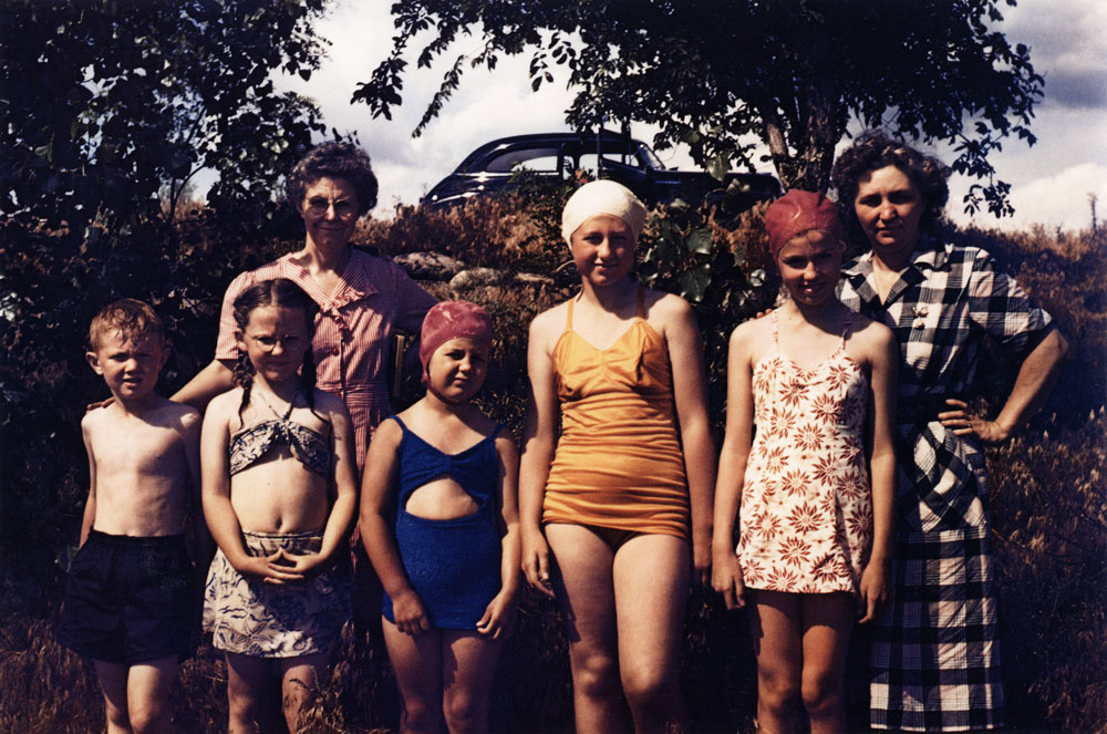 Swimmers, Alexandria, South Dakota , 1948