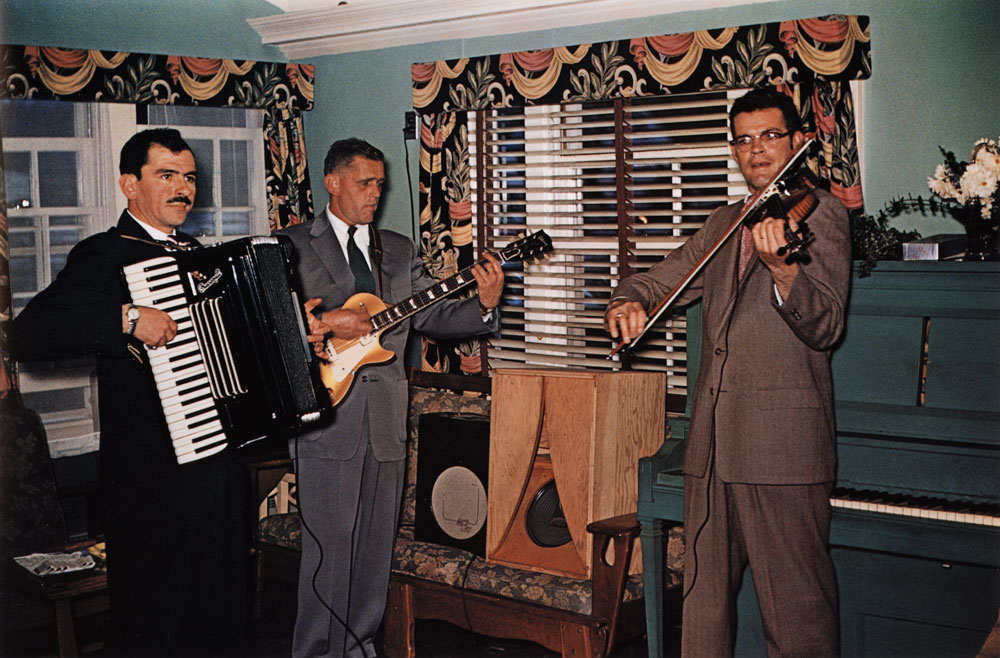 Wedding Musicians, New Milford, Connecticut , 1956