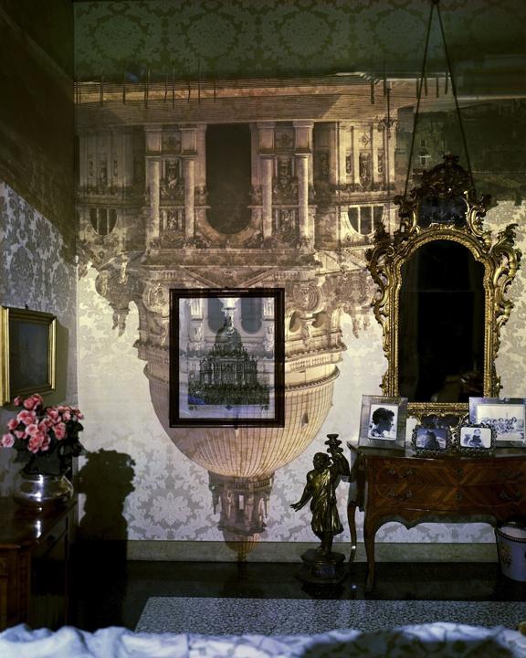 Camera Obscura: Santa Maria della Salute Inside Palazzo Bedroom, Venice, Italy, 2006