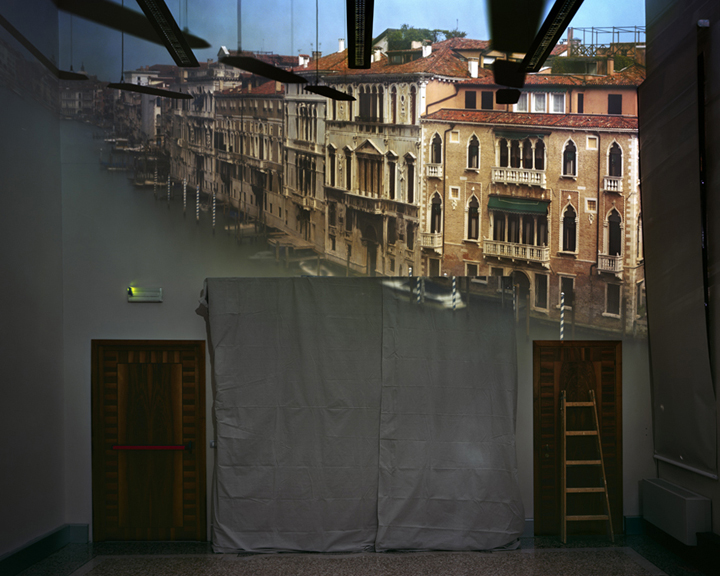 Camera Obscura: View of the Grand Canal Looking Northeast from Room in Ca'Foscari, Venice, Italy , 2008