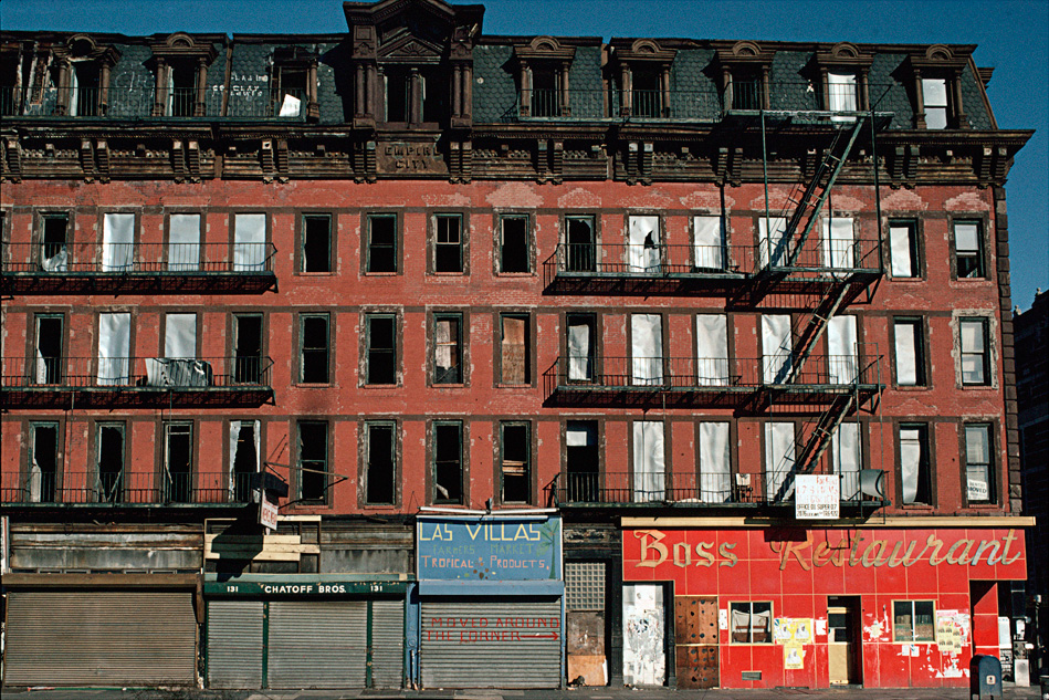 135 East 125th St., Harlem , 1980