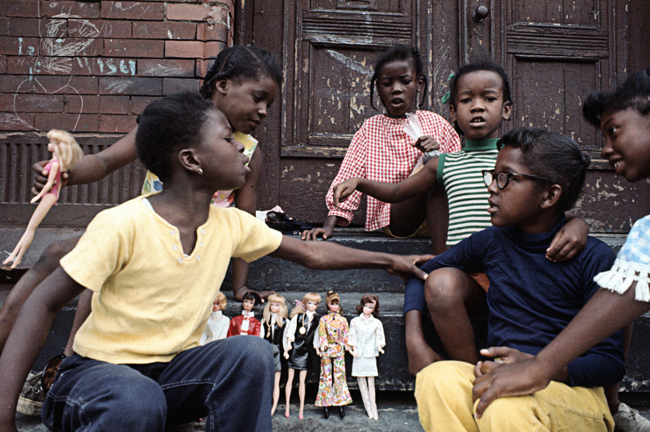 Girls, East Harlem , 1970