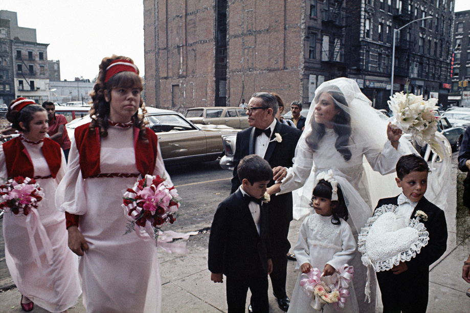 Wedding, East Harlem , 1970