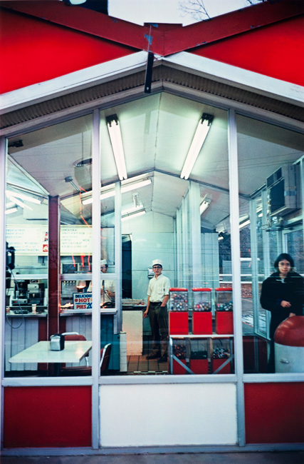 Untitled  (Cafe exterior), 1970-1973 Dye Transfer Print 16 x 20 inches