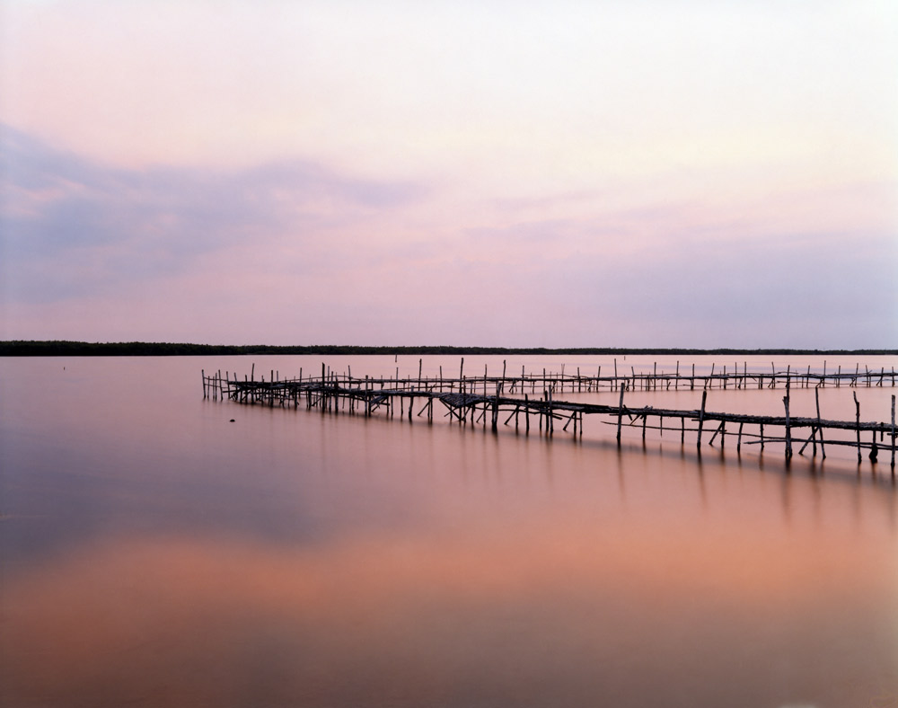 Dock for Fishing Boats, Caiberién,   2006