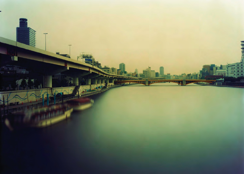 Ken Kitano,  Morning to Evening, Sumida River, Tokyo , from the series  One Day , 2007