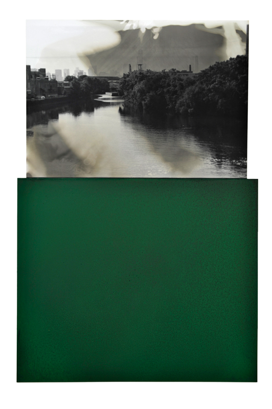 Manfred Müller,  River Scene , from the original  Hidden Cache Series , 2008