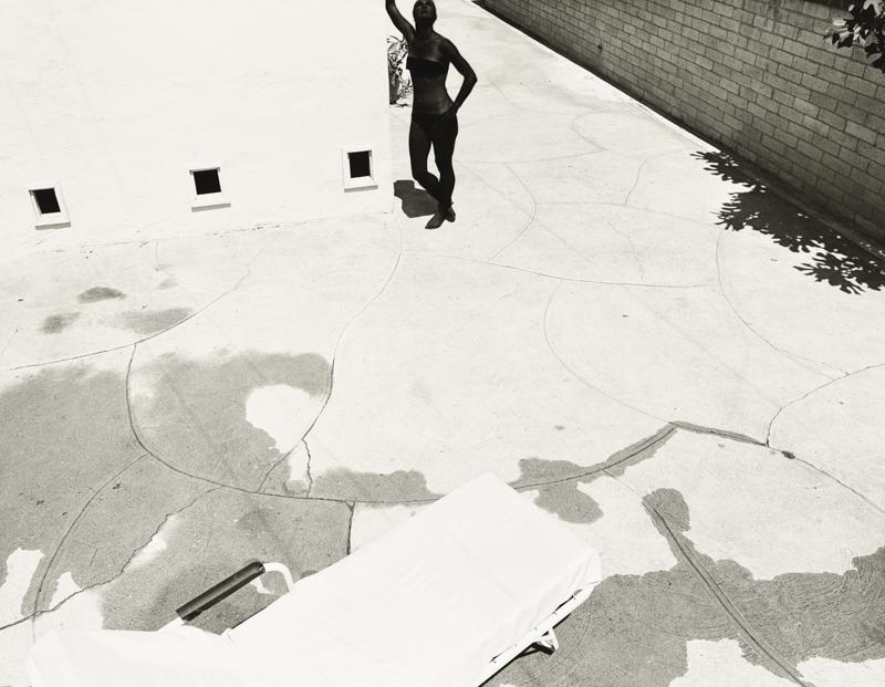 Jo Ann Callis, Black Sun Picture #9 , 1976