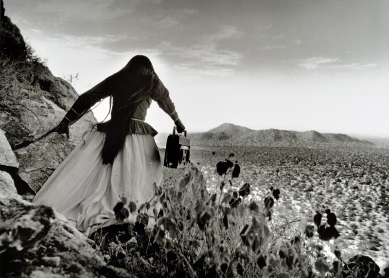 Graciela Iturbide, Mujer Angel, Sonora Desert , 1979