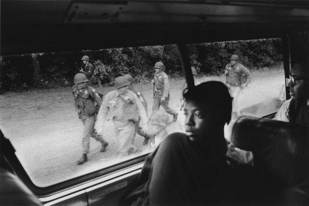 Bruce Davidson ,  Untitled , (Woman on bus), from  Time of Change , 1961-65