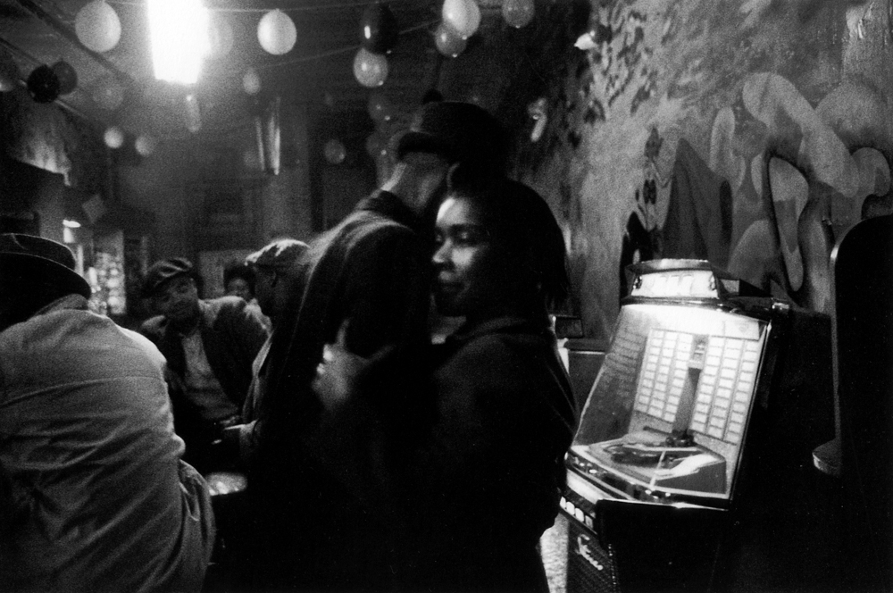 Bruce Davidson ,  Untitled , (Couple dancing by jukebox), from  Time of Change , 1961-65