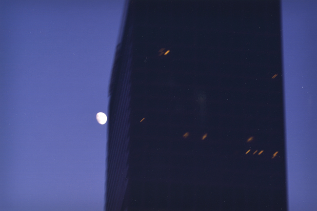 Ken Kitano ,    Downtown, Los Angeles, CA,    from the series  Watching the Moon , 2013, 20 x 24 inch Chromogenic Print