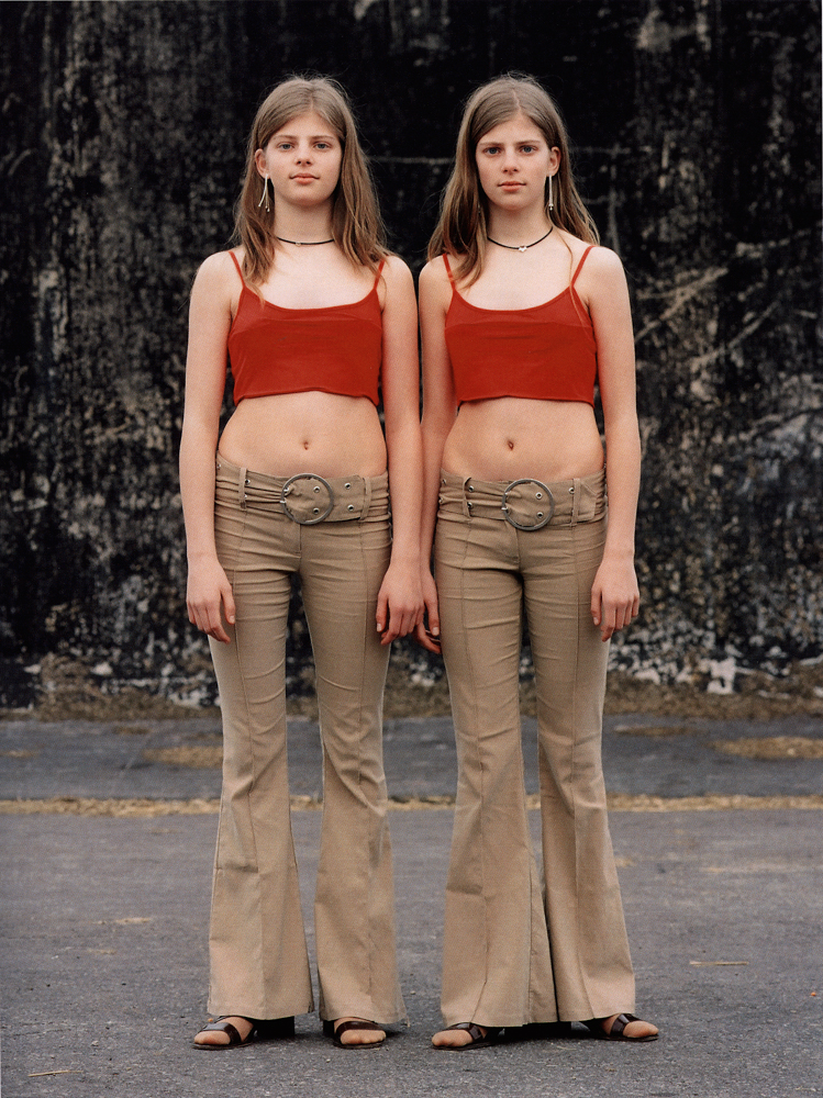 Albrecht Tübke ,  06 , from the series,  Twins