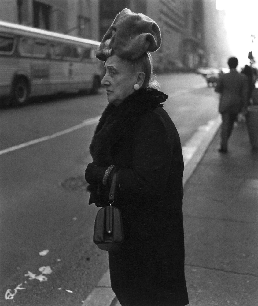 Diane Arbus ,   Woman in Floppy Hat, NYC , 1970